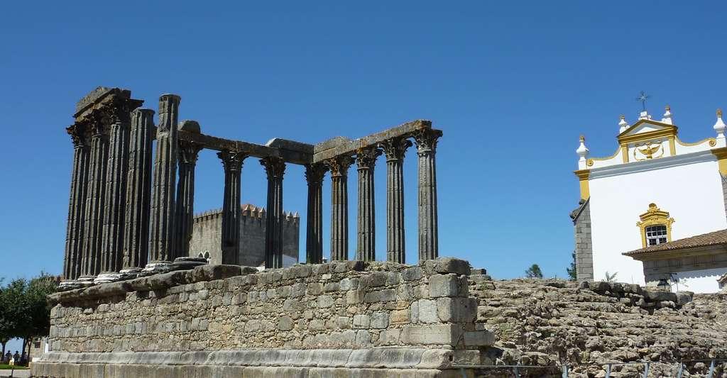 Temple de Diane. © Rui.P.Lopes, Wikimedia commons, CC by-sa 3.0