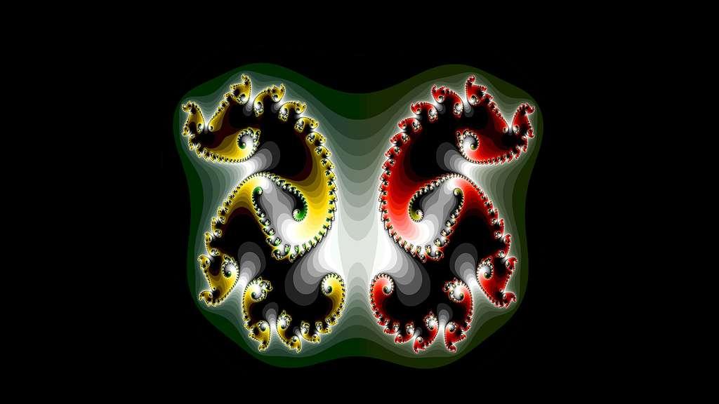 Fractales symétriques envoûtantes