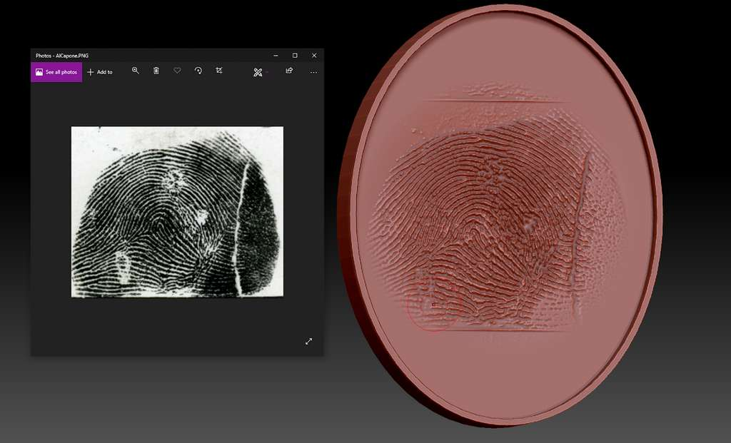 A partir des empreintes collectées et affinées numériquement, l'équipe a créé des moules imprimés en 3D sur des tampons souples pour leurrer les systèmes de déverrouillage par empreinte digitale. © Cisco Talos