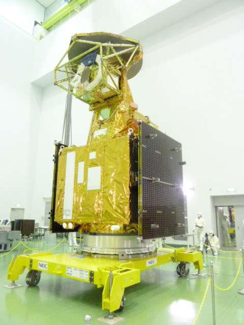 Shizuku(GCOM-W1), le satellite d'observation de la Terre. © Jaxa