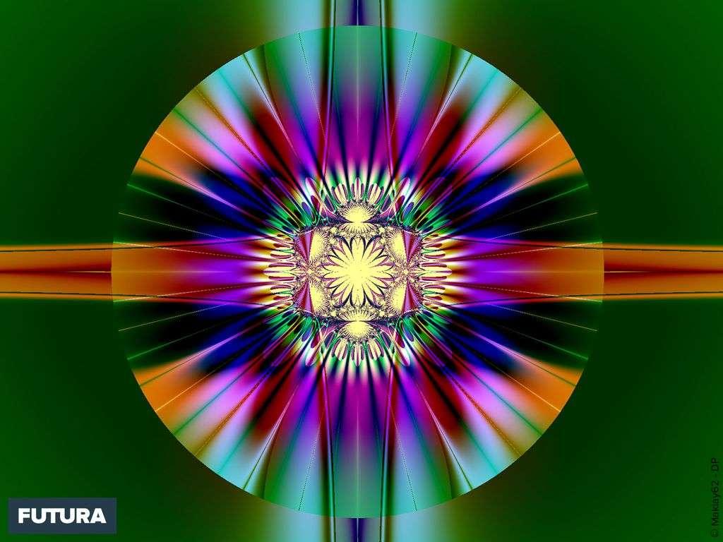 Une fractale est un concept mathématique, créee par Benoît Mandelbrot