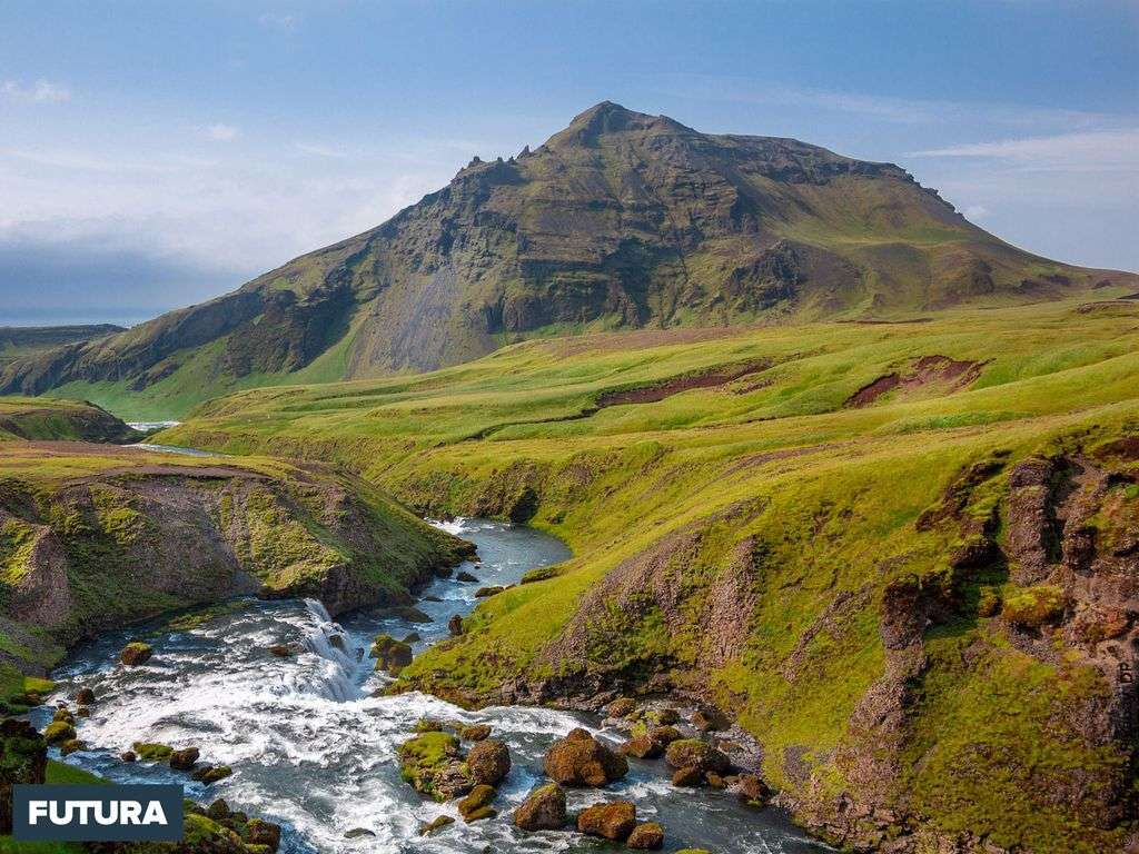 Paysage de montagne en Irlande