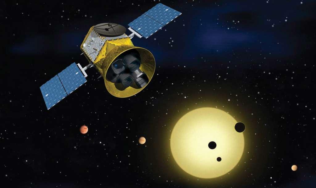 Avec Tess, la Nasa fait le pari de découvrir une multitude de planètes habitables, voire habitées, autour d'étoiles proches de nous. © Nasa