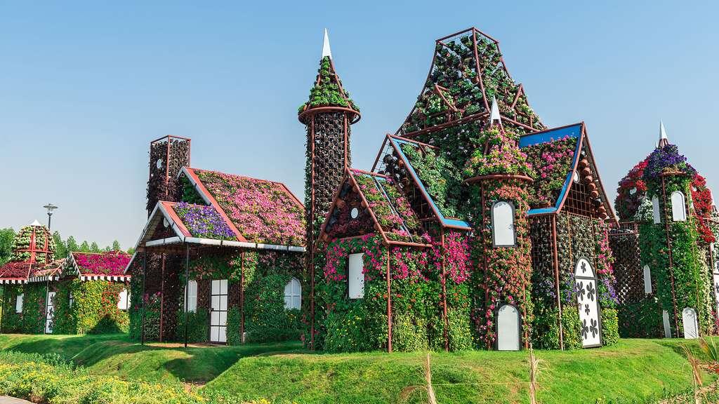Une maison… fleurie !