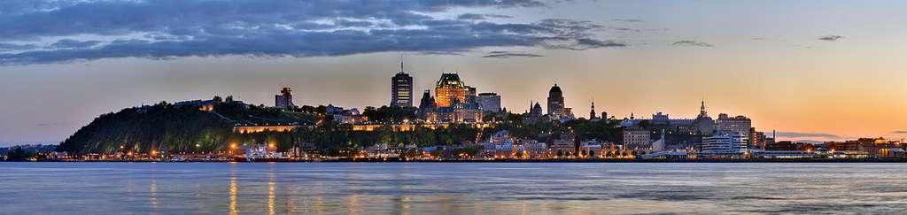 La ville de Québec, au Canada comporte de nombreux sites touristiques. Le Vieux-Québec est particulièrement attrayant. © Martin St-Amand, Wikimedia, CC by-sa 3.0