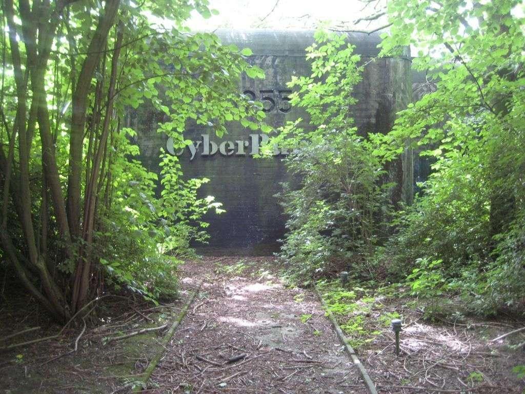 Voici un exemple de ferme de serveurs située dans les Pays-Bas. Les serveurs sont enfermés dans un véritable bunker des années 1950 se trouvant au milieu d'une forêt. Celui-ci est capable de résister aux ondes électromagnétiques et même au blast produit par une bombe nucléaire d'une puissance de 20 mégatonnes. © CyberBunker