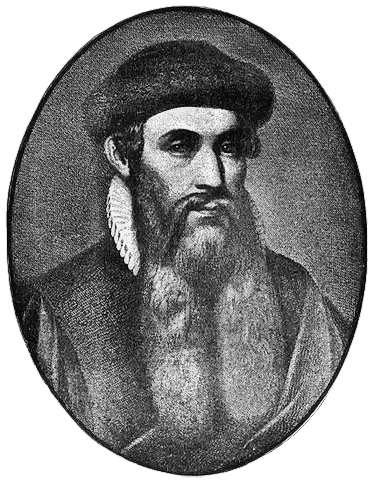 Gutenberg, considéré comme l'inventeur de l'imprimerie typographique en Europe. © Domaine public