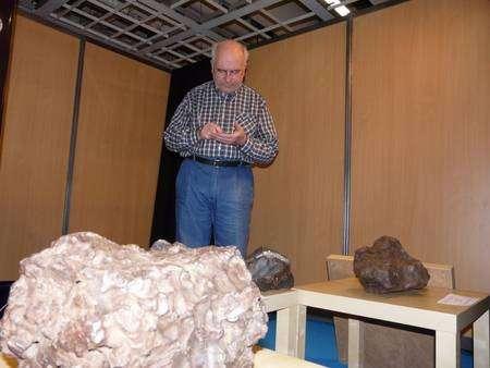 S'offrir une météorite pour Noël, pourquoi pas ? Photo J.-B. Feldmann