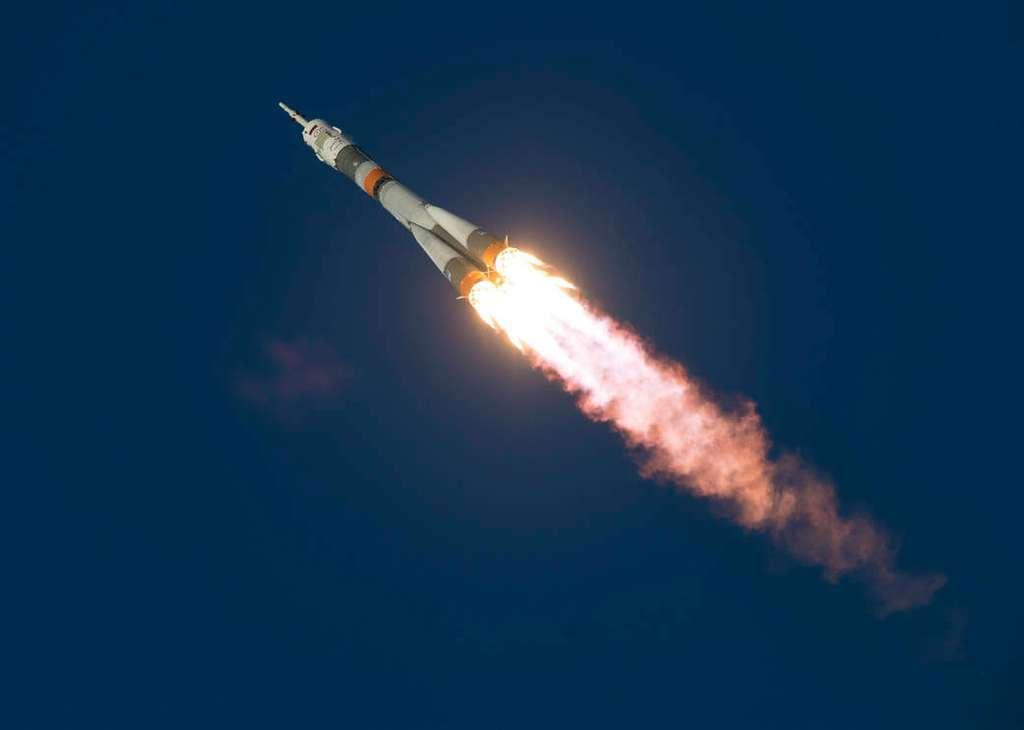 Les vols habités sont la meilleure carte de visite du secteur spatial russe. © Nasa