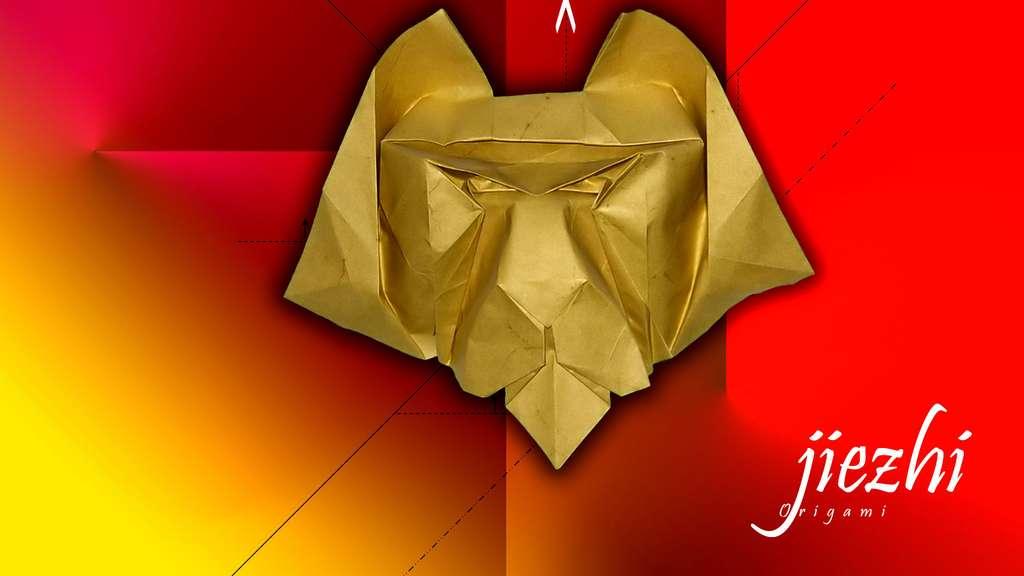 Un lion en papier