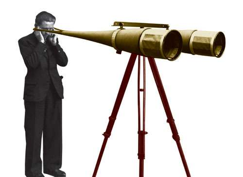 Le réarmement allemand stimule, à partir de 1935, les recherches d'acoustique militaire de l'Office. © CNRS Photothèque / Fonds historique