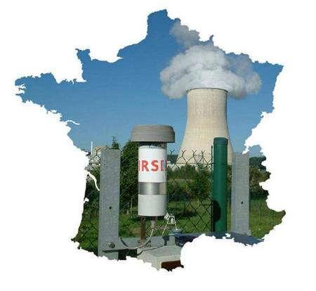 La surveillance de la radioactivité en France est du ressort de l'Institut de Radioprotection et de Sûreté Nucléaire © IRSN