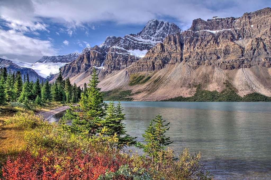 Le lac Bow