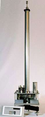 Électromètre de Kelvin, perfectionné par Pierre Curie
