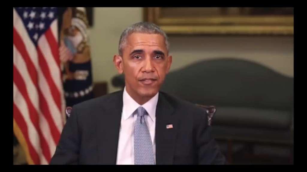 Le deepfake permet d'échanger des visages ou de faire froncer un faux discours à une personne. © BuzzFeedVideo, YouTube
