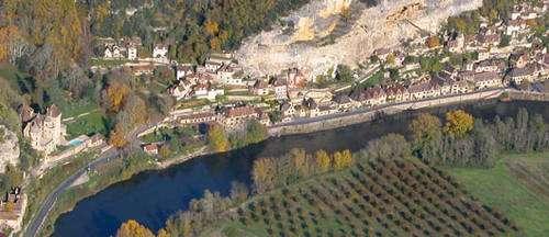 La Roque-Gageac. © Philippe Dufour, tous droits réservés