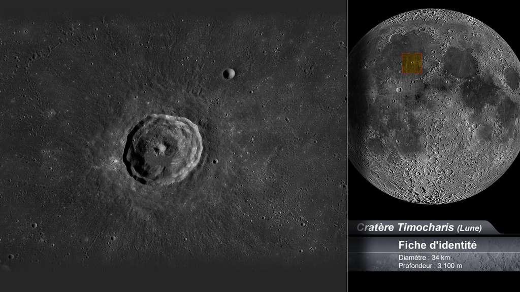 Le cratère Timocharis sur la Lune