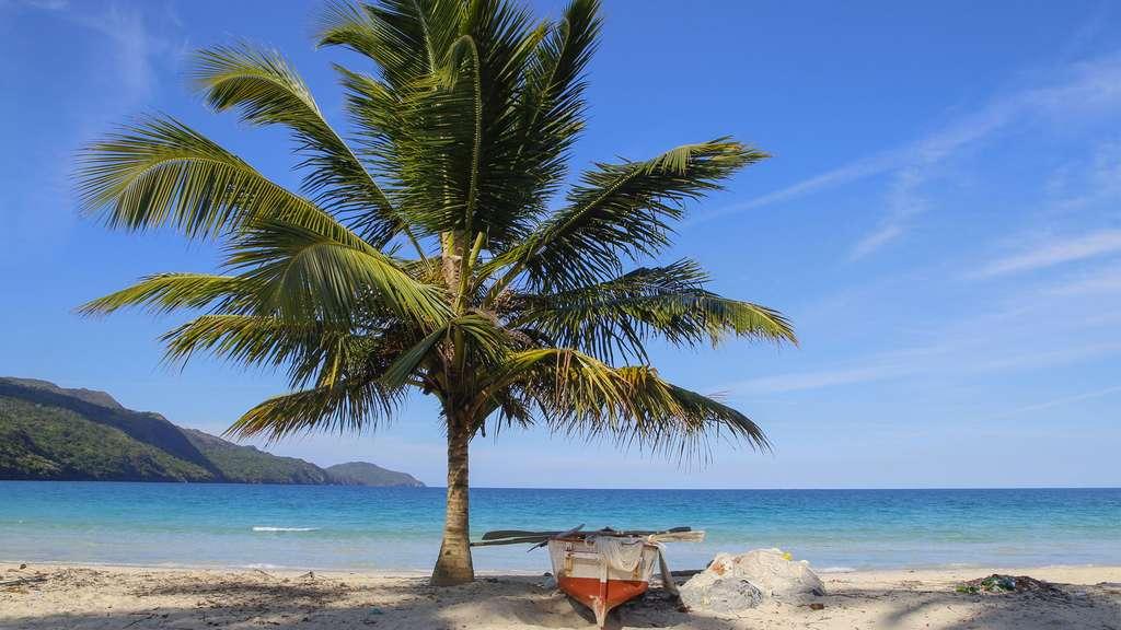 La Playa Rincon dans la péninsule de Samaná