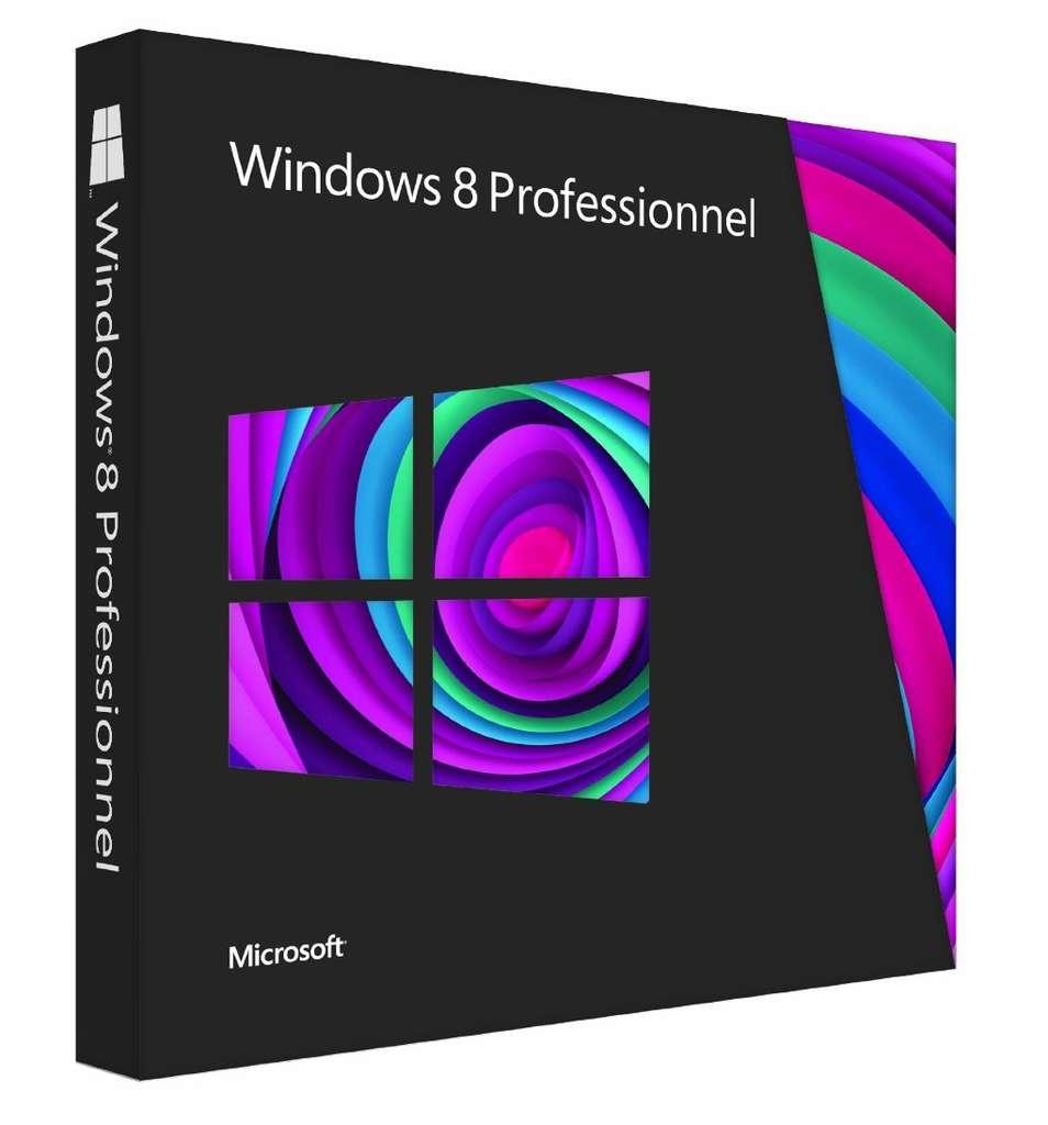 Destinée aussi bien aux ordinateurs qu'aux tablettes à architecture x 86, l'édition Professionnelle de Windows 8, dite « Windows 8 Pro », intègre les fonctions de base du système, des fonctions dédiées à l'entreprise comme la virtualisation, mais ne propose le Media Center qu'en option. © Microsoft