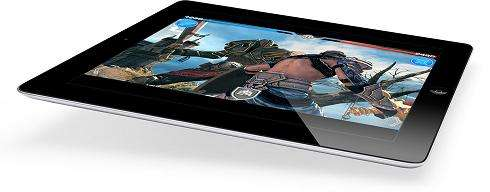 Couplé à une nouvelle puce graphique, le nouveau processeur central A5 offre une fluidité sans précédent dans les jeux vidéo. © Apple