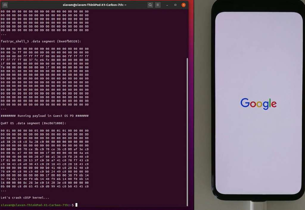 La faille du composant QMI qui permet à Android de communiquer avec le modem MSM sur SoC permet de prendre le contrôle du smartphone. © CheckPoint Research