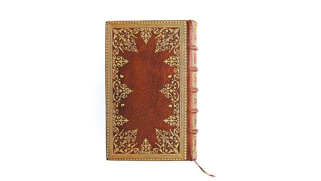 Ce splendide petit volume de La Philosophie dans le boudoir du marquis de Sade, a récemment été vendu aux enchères par l'hôtel Drouot. © La Gazette Drouot