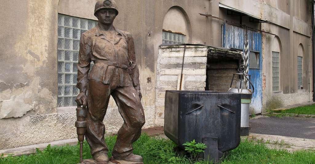 La silicose des mineurs de charbon. © Hadonos, CC BY-SA 3.0