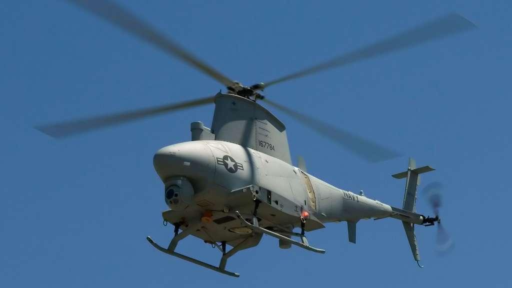 Le MQ-8 Fire Scout, un drone d'hélicoptère