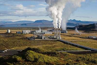 La centrale électrique géothermique de Nesjavellir en Islande © Gretar Ívarsson, geologist at Nesjavellir