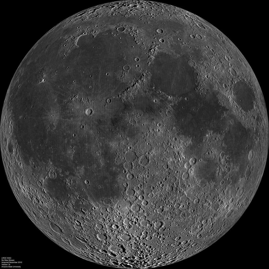 Si pendant longtemps plusieurs hypothèses ont cohabité pour expliquer la formation de la Lune, la théorie admise aujourd'hui veut que notre satellite se soit créé à la suite d'un impact géant entre un objet de la taille d'une petite planète avec la Terre, alors en formation. © Nasa/GSFC/Arizona State University