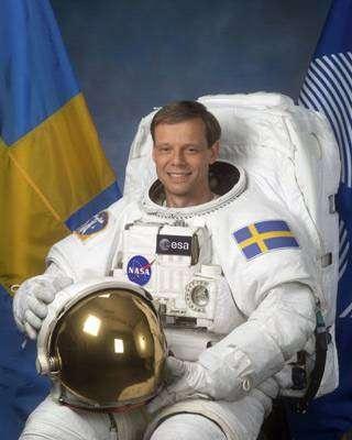 L'astronaute de l'ESA Christer Fuglesang
