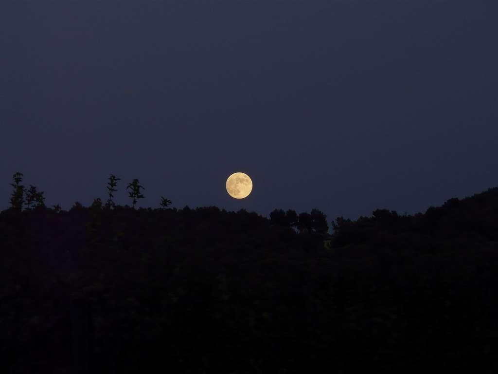Pleine Lune provençale. © J.-B. Feldmann