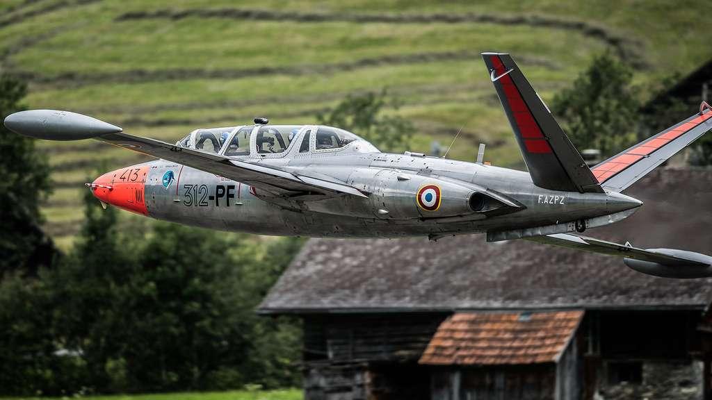 Le Fouga Magister, l'emblème de la Patrouille de France