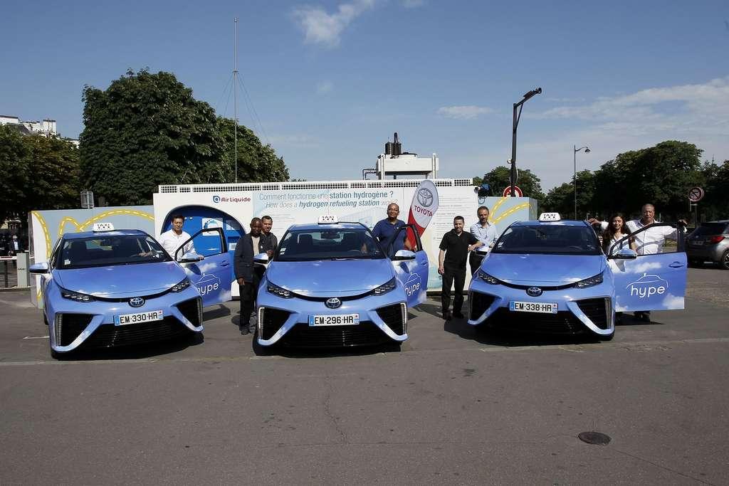 Toyota, qui vient de lancer sa deuxième génération de Mirai, est également actionnaire d'HysetCo. © Toyota