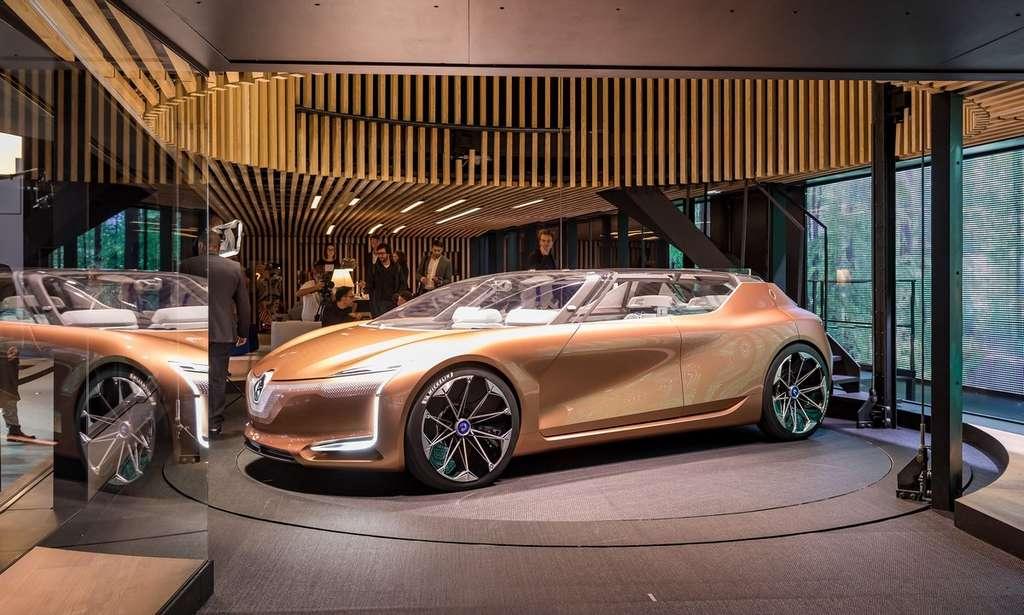 Avec la Symbioz, Renault explore un concept de voiture pour les années 2030. © Olivier Martin-Gambier, Renault