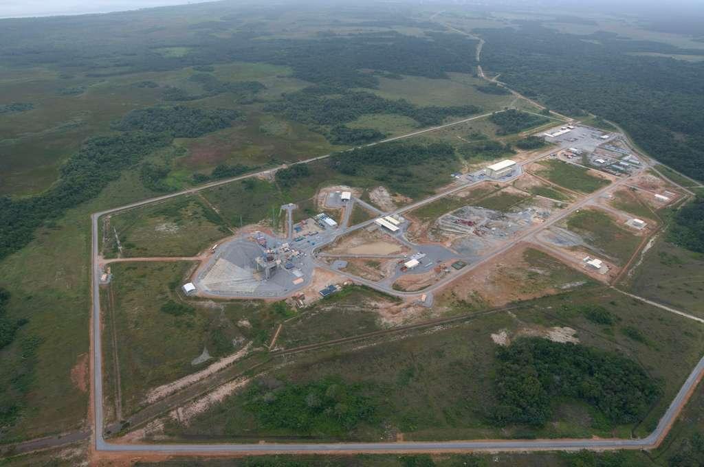 La base de lancement de Soyuz en Guyane (2009)