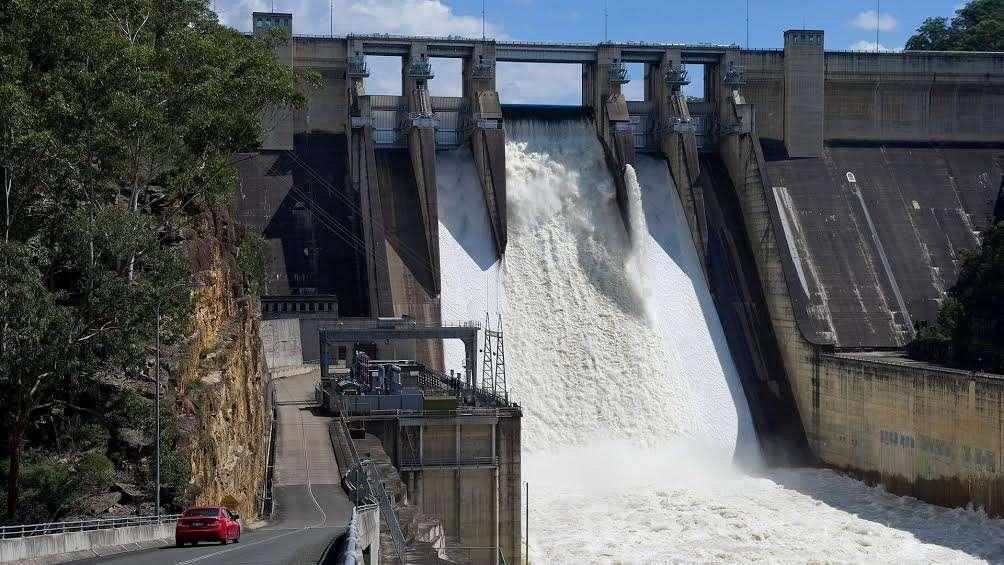 Le barrage de Warragamba, un barrage poids en Australie