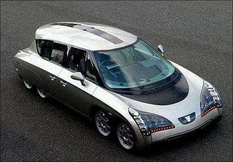 Huit cents chevaux, l'accélération d'une Porsche 911 Turbo mais zéro émission de polluants (une fois l'électricité produite…).