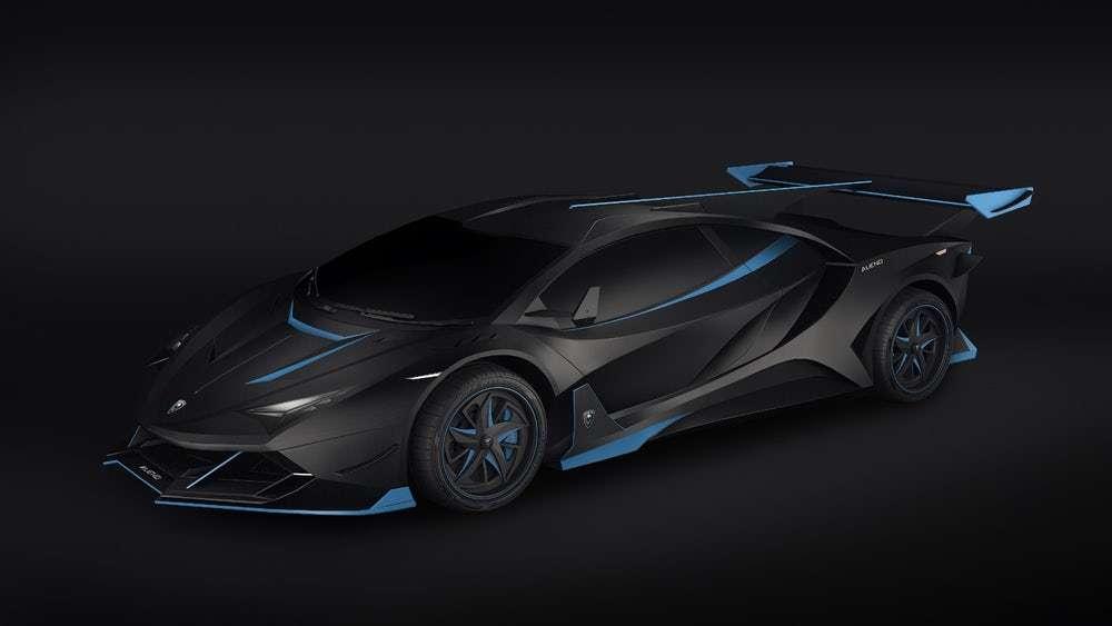 Le style de l'Arcanum d'Alieno ressemble beaucoup à celui de la Lamborghini Veneno. © Alieno