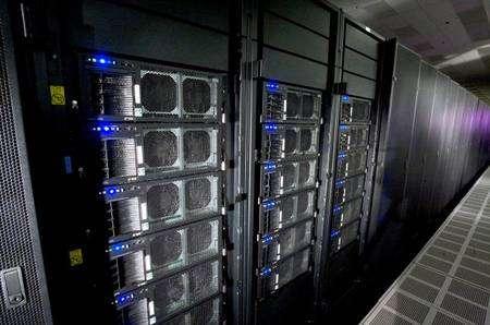 Le RoadRunner d'IBM. Crédit IBM