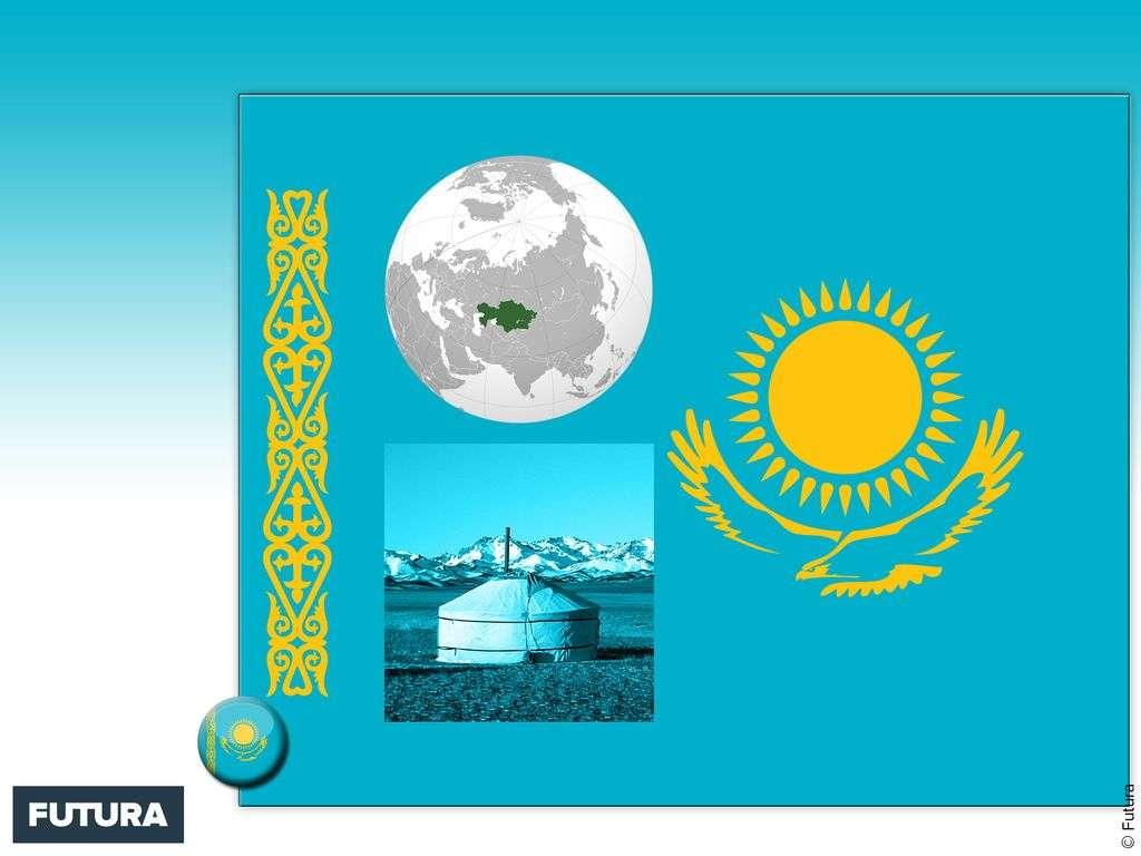 Drapeau : Kazakhstan