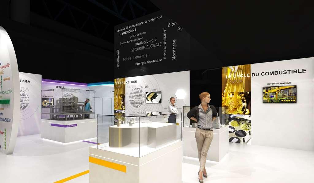 Une grande exposition installée à la Cité des sciences pour découvrir des domaines plutôt éclectiques. © CEA