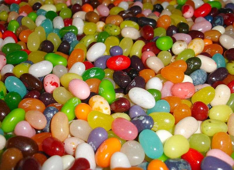 Les colorants alimentaires (qui sont des additifs alimentaires) sont souvent présents dans les bonbons. © Brandon Dilbeck, Wikimedia, CC by-sa 3.0