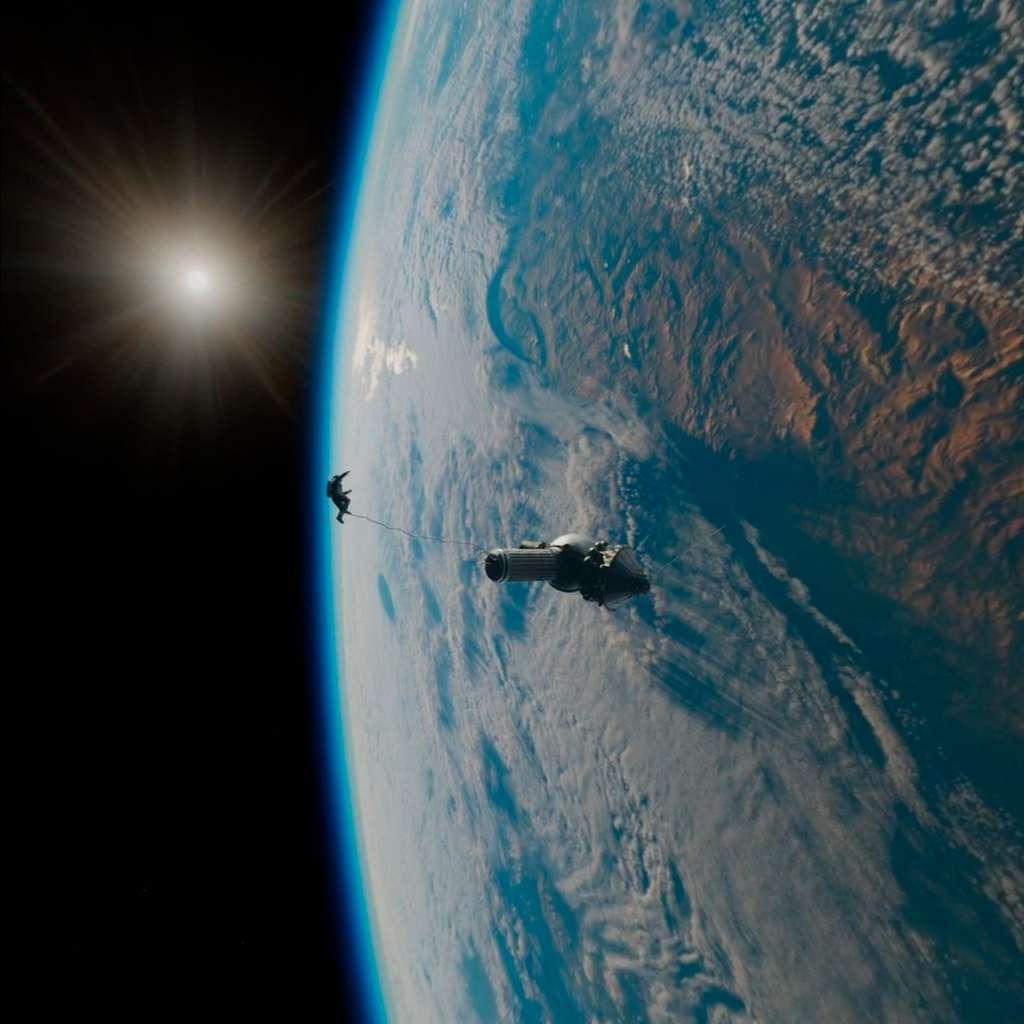 Suivez le lancement d'une fusée et flottez dans l'espace dans The Spacewalker sur Oculus TV. © Futura