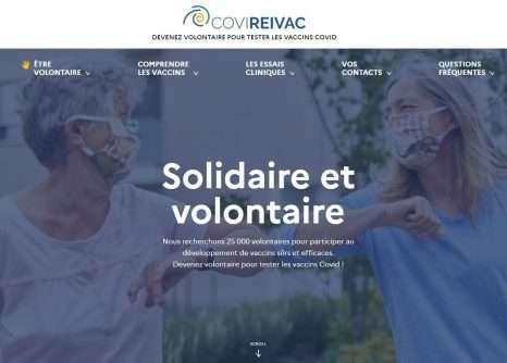 L'Inserm recherche 25.000 volontaires pour les essais cliniques. © Covireivac