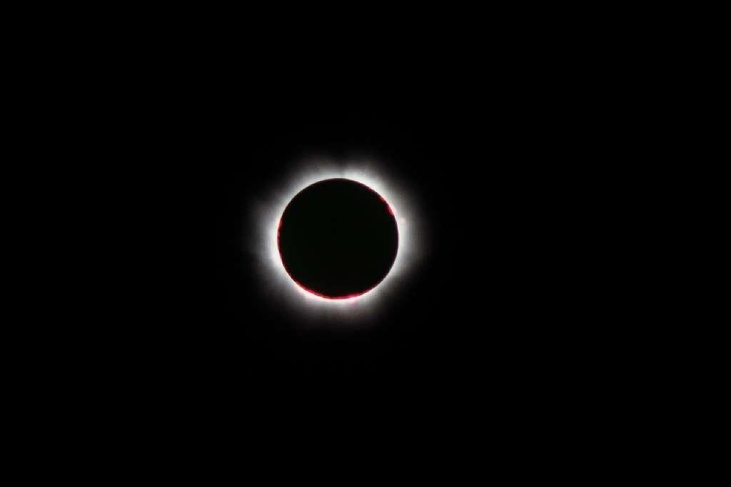 Le 11 août 1999 la France vivait sa dernière éclipse totale de Soleil. Le 4 janvier 2011, le phénomène sera partiel. © J-B Feldmann