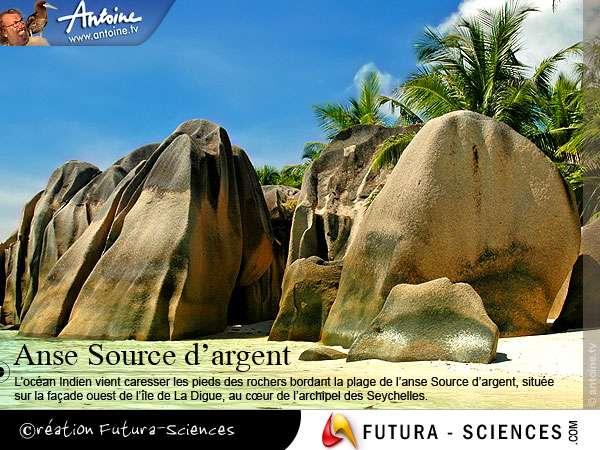Seychelles, l'anse source d'argent