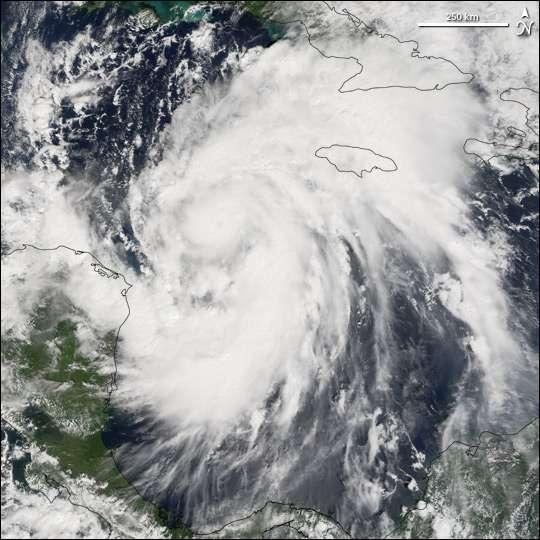 Ouragan Wilma dans les Caraibes