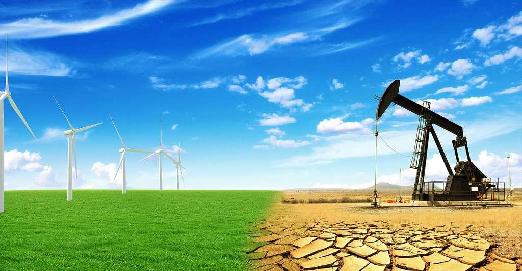Champs d'éoliennes. © Alones, Shutterstock