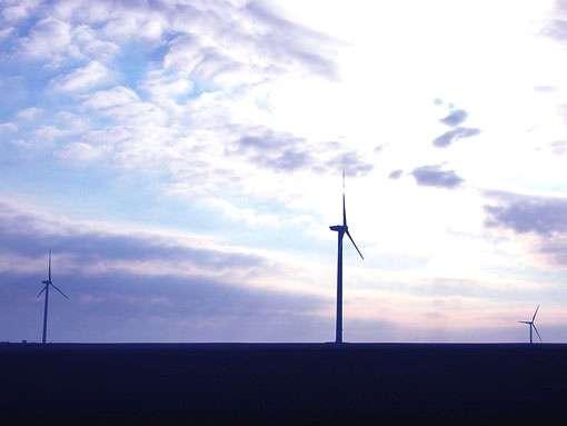 Les éoliennes de la Chaussée sur Marne